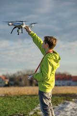 Drohnenflug