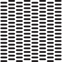 Seamless vector pattern with element in rows