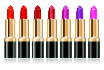 Lipstick banner