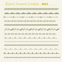 Hand drawn dividers and borders
