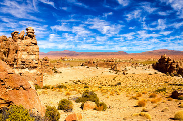 Desert and Dramatic Sky