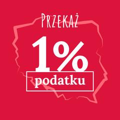 Obraz 1% / podatek / PIT - fototapety do salonu
