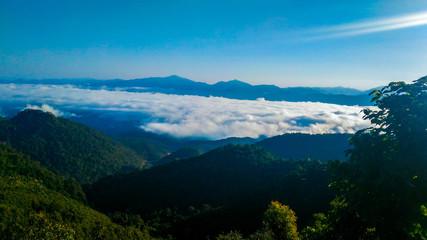 Fotobehang Bergen Mountain