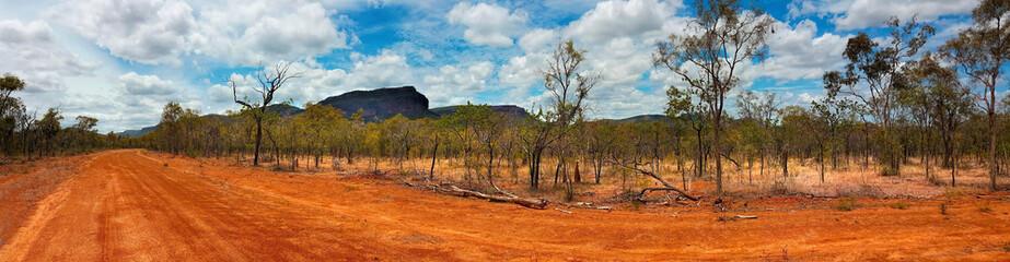 outback landscape Australia panarama view