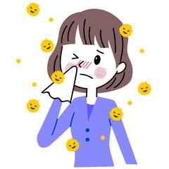 花粉症 女性