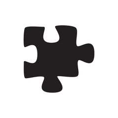 puzzle icon illustration