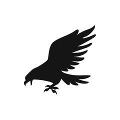 eagle icon illustration