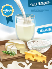 Dairy Products Background