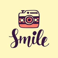 Smile Inspirational poster