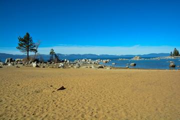 Wonderful landscape of South Lake Tahoe, California