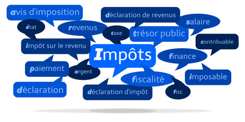 Nuage de Mots Impôts v3