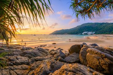 Landscape of Phuket View Point at Nai Harn Beach