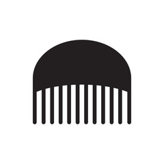 comb icon illustration