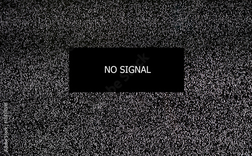 No signal TV, Seamless texture with television grainy noise