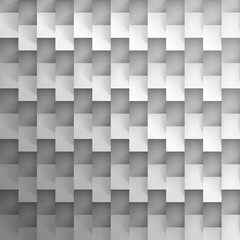 Volume realistic vector texture, cubes, steps geometric pattern, design wallpaper