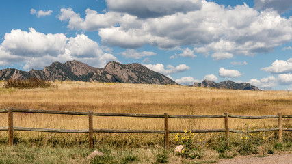 Mountains, Flatirons Vista Trail, CO