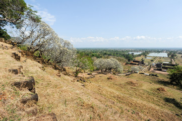 Wat Phu is the UNESCO world heritage site in Champasak