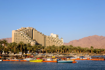 Eilat city view