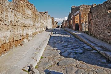 Pompei, ruderi e rovine dell'antica città romana