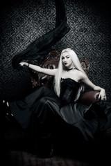 black witch lady
