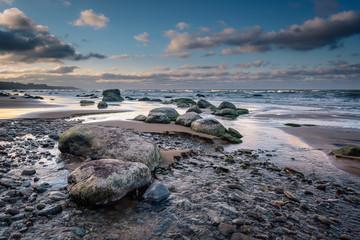 Sea dramatic landscape