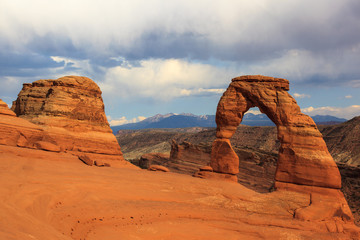 Delicate Arch. Arches National Park. Utah.