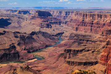 Grand Canyon and Colorado River in Arizona.