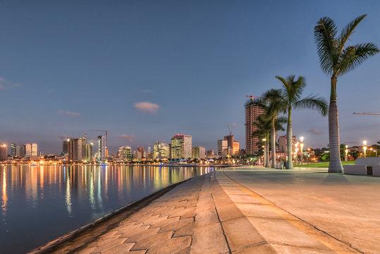 Luanda's waterfront