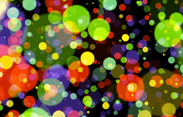 bunte kreise hintergrund nahtlos colorful circles background sea