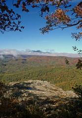 Colourful Blue Ridge Mountains in Autumn