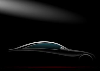 Karanlık ve gri Otomobil
