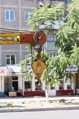 crane hook load