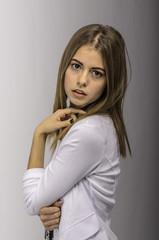 Portrait with Daphne