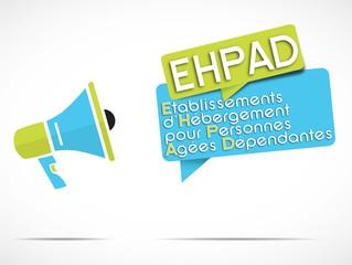 mégaphone : EHPAD