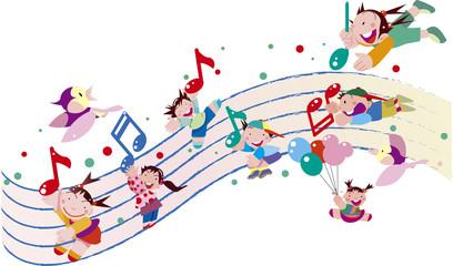 音楽と子供たち