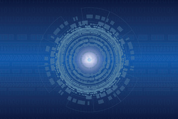 Abstract technology background for internet of things
