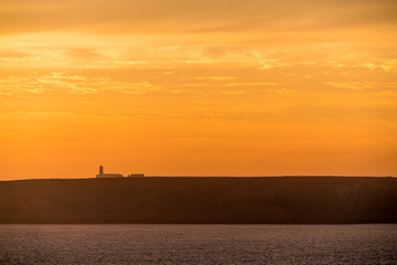 Portugal - Lighthouse during sunset