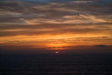Portugal - Sunset and Atlantic ocean