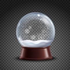 Snow Globe Composition