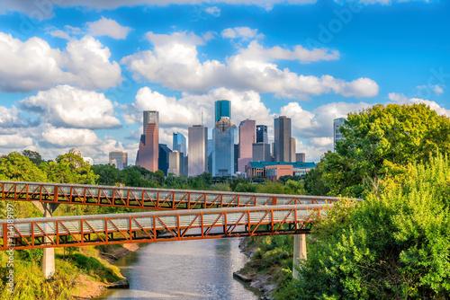 Fotomurales Downtown Houston skyline
