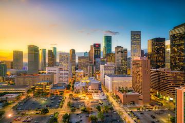 Downtown Houston skyline