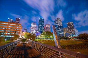 Fotomurales - Downtown Houston skyline