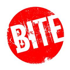 Bite rubber stamp