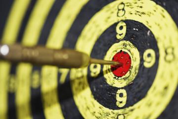 Abstract photo of darts.