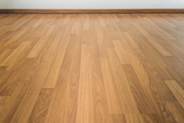 Obraz Wood laminate parquet floor texture room - fototapety do salonu