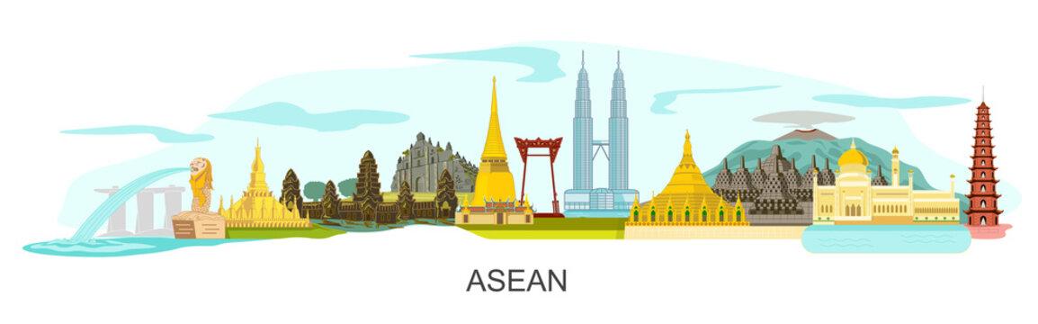 ASEAN buildings landscape
