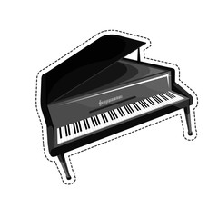 The piano is an acoustic stringed musical instrument