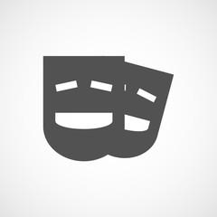 black comedy mask