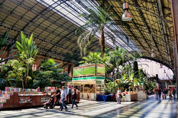Photo sur Plexiglas Madrid Madrid Atocha