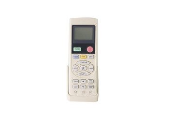 remote control hang on white background
